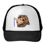 Las resacas suben el león gorros bordados
