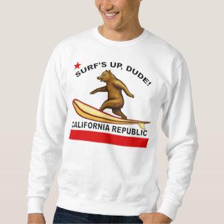 Las resacas suben las camisetas de California del