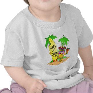 Las resacas suben Tiki Camiseta