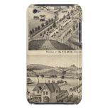Las residencias de Wm N Gladden y señora Ina B Mil iPod Touch Case-Mate Carcasas