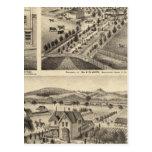 Las residencias de Wm N Gladden y señora Ina B Tarjetas Postales