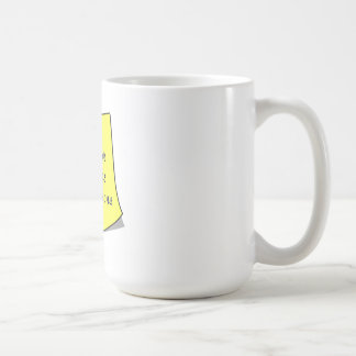 Las reuniones o exceden la nota pegajosa de las ex taza de café
