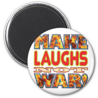 Las risas hacen X Imán Redondo 5 Cm
