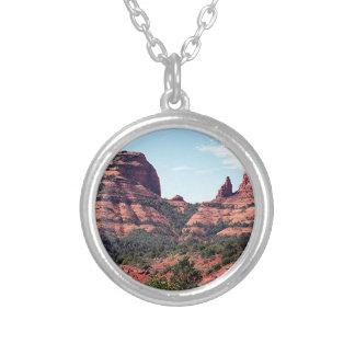 Las rocas acercan a Sedona, Arizona Colgante Redondo