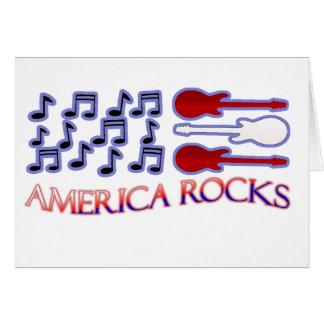 Las rocas de América invitan Tarjeta Pequeña