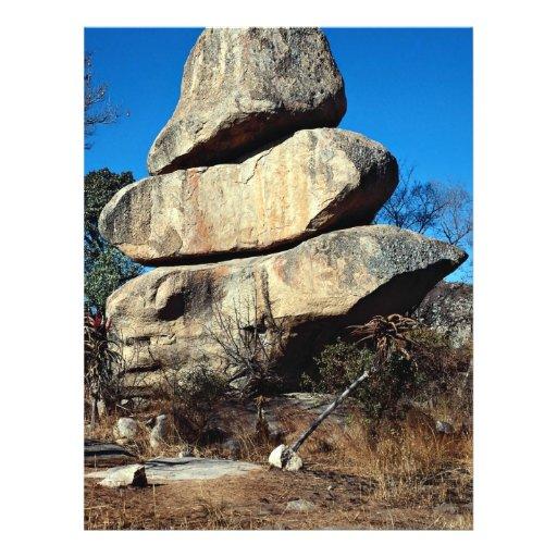 """Las rocas de equilibrio, formati de la roca de Har Folleto 8.5"""" X 11"""""""