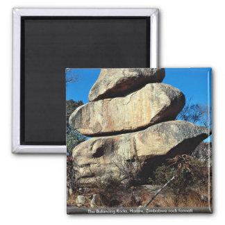 Las rocas de equilibrio, formati de la roca de Har Imán Para Frigorífico