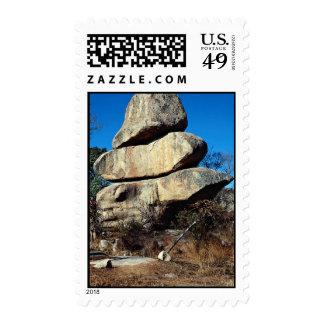 Las rocas de equilibrio, formati de la roca de franqueo