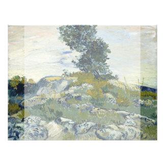 Las rocas de Vincent van Gogh Flyer Personalizado