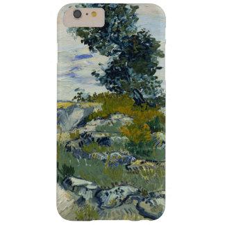 Las rocas de Vincent van Gogh Funda De iPhone 6 Plus Barely There