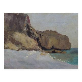Las rocas en Vallieres cerca de Royan Postal