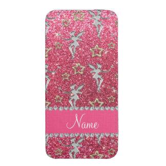 Las rosas fuertes de neón de las estrellas de funda para iPhone 5