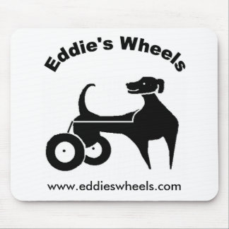 Las ruedas Mousepad de Eddie Alfombrilla De Ratón