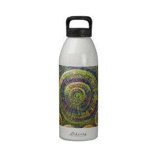 Las ruedas simbolismo geométrico religioso botellas de agua reutilizables
