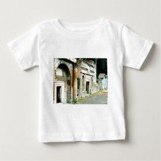 Las ruinas de Pompeya - mercado con los templos Remeras