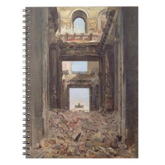 Las ruinas del Tuileries, 1871 Libros De Apuntes
