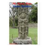 Las ruinas mayas - Copan, Honduras Postal