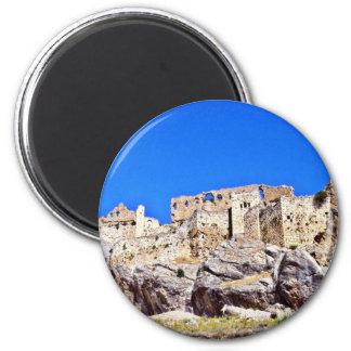 Las ruinas medievales acercan a Samat Imanes De Nevera