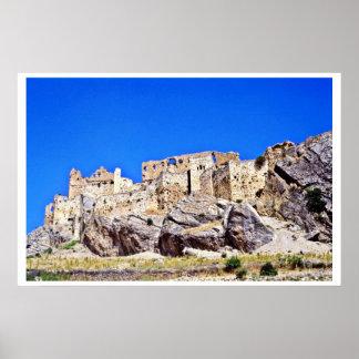 Las ruinas medievales acercan a Samat Posters