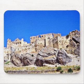 Las ruinas medievales acercan a Samat Alfombrilla De Ratones