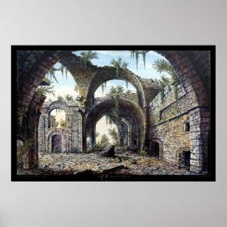 las ruinas póster
