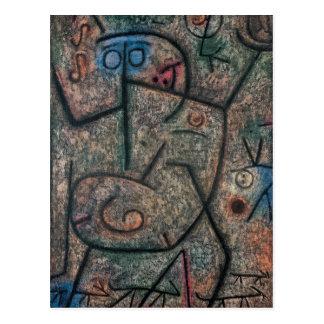 Las rumores de Paul Klee Tarjetas Postales