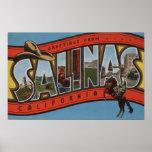 Las salinas, California - escenas grandes de la le Posters