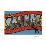 Las salinas, California - escenas grandes de la Tarjetas Postales