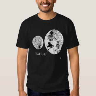 Las segundas camisetas de la luna poleras