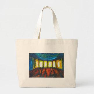 Las seis puertas (expresionismo espiritual) bolsa de mano