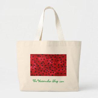Las semillas de la sandía empaquetan para la tiend bolsa tela grande