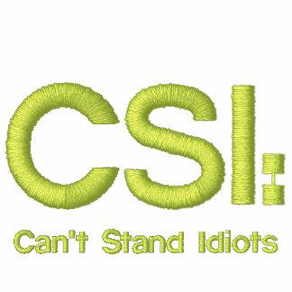 Las señoras bordaron la camisa CSI: No puede