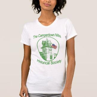 Las señoras Camperdown muelen la camiseta de la Playera