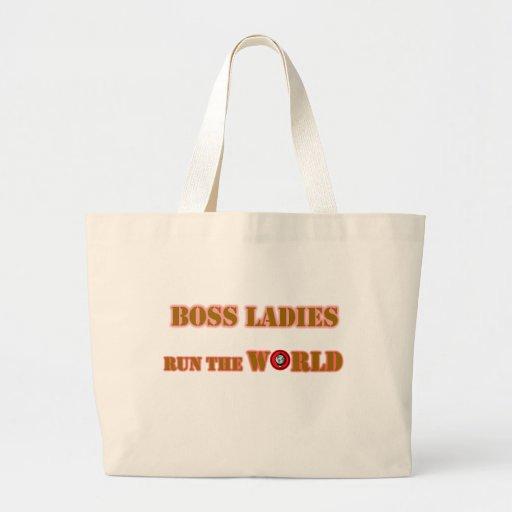 Las señoras de Boss funcionan con el tote del jumb Bolsa