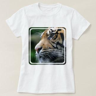 Las señoras de la imagen del tigre cupieron la remeras