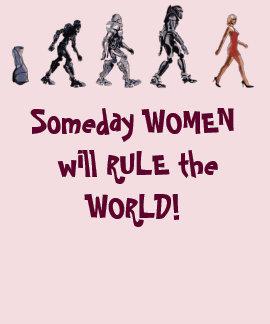 Las señoras gobiernan la camisa del mundo