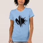 Las señoras grandes del logotipo de Novastar Camiseta