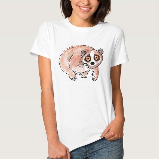Las señoras lentas de Loris cupieron la camiseta Playera