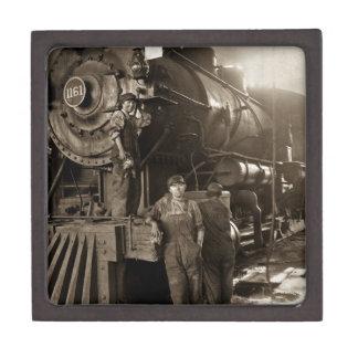 Las señoras locomotoras de la Primera Guerra Caja De Recuerdo De Calidad
