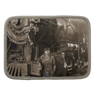 Las señoras locomotoras de la Primera Guerra Planificador