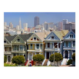 Las señoras pintadas famosas de San Francisco Postal