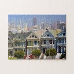 Las señoras pintadas famosas de San Francisco Puzzle Con Fotos