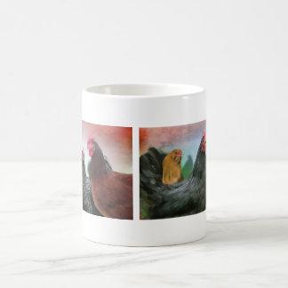 Las señoras - pollos taza básica blanca