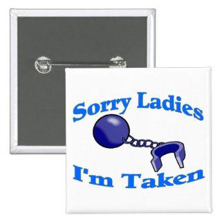 Las señoras tristes me toman pin cuadrado