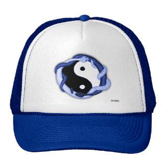 Las serpientes se doblan (el azul) gorras