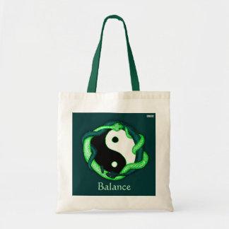 Las serpientes se doblan (el verde) bolsa tela barata