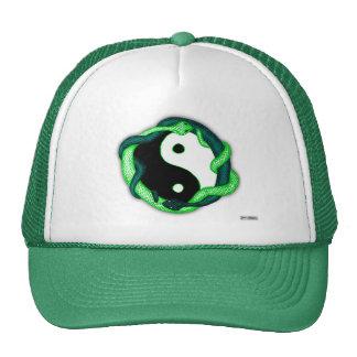 Las serpientes se doblan (el verde) gorra