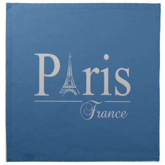 Las servilletas de encargo de París Francia - elij