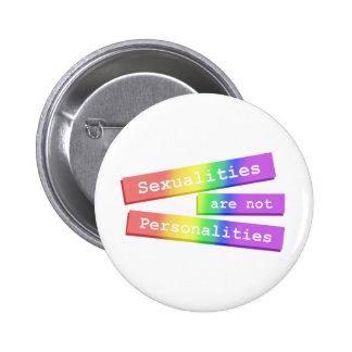 Las sexualidades no son el botón 003 de las person pins