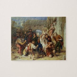 Las siete edades del hombre, 1835-8 (aceite) puzzles con fotos